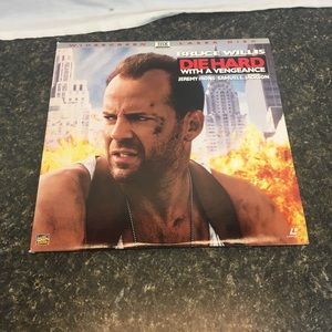 Die Hard With A Vengeance laserdisc Widescreen